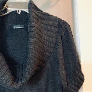 SALE Moda Int. | Knit Cowl Neck Texture Sweater M